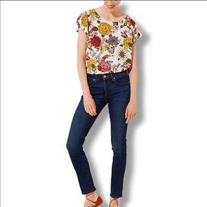 LOFT • Dark Wash Modern Skinny Jeans - Size 4 / 27